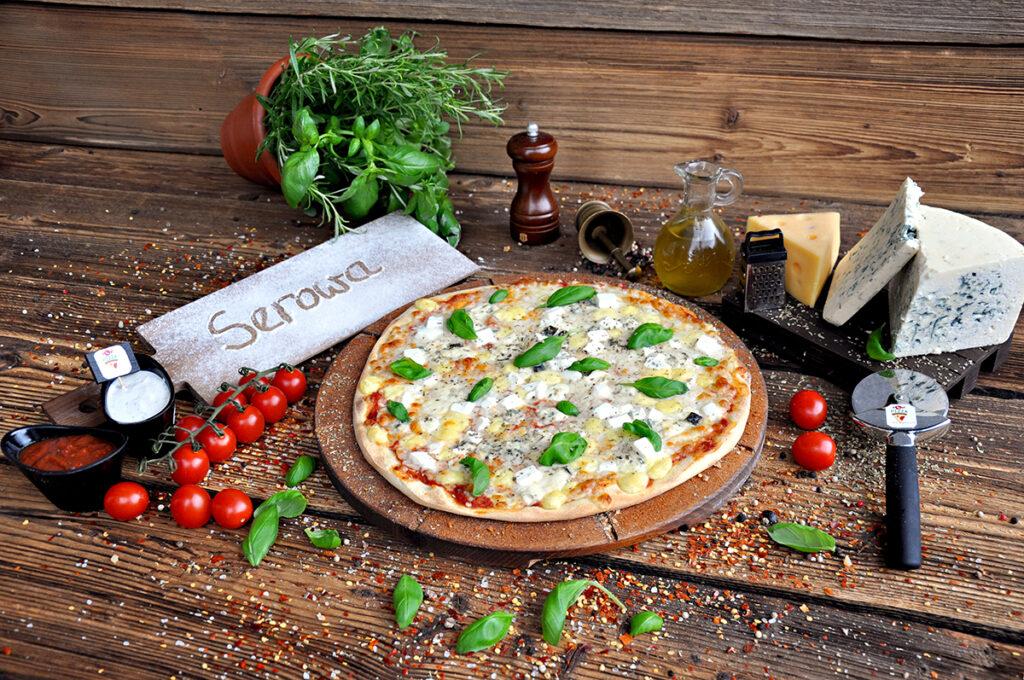 Pizza Serowa